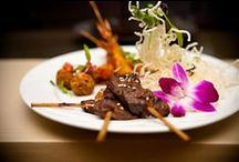 Wine and Dine / Stop by the iconic River Rock Lounge for breakfast, lunch or dinner and impressive Happy Hour specials. Executive Chef Marcos Aranas promises to deliver inspired cuisine and our resident mixologists are ready to sate your thirst. Guests also enjoy live entertainment on select nights.  http://ow.ly/jKLmn
