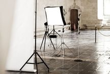 studio, office & creative spaces / Photography Studios, Creative space, Workspaces and related storage.   If you are not following, please limit repins to 10 a day per board.