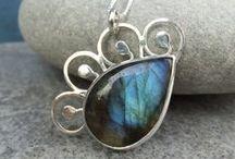 Handmade jewellery by K S Jewellery Designs / Handmade metalwork and wirework jewellery, gemstone jewelry, sterling silver jewellery, soldering, metal smithing, silversmithing