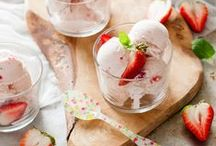 recipes: ice cream, spoon desserts / Frozen treats, ice pops, ice cream, mousse, custards, panna cotta, brulee, gelato, granitas - spoon desserts!