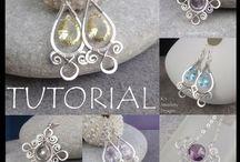 Wirework Jewellery Tutorials by K S Jewellery Designs (jewelry making) / My wirework jewellery tutorials (K S Jewellery Designs), jewellery making, learn wirework techniques,