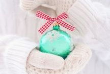 """winter - Christmas ornaments / Pretty board of glitter & glass inspiration. If you are not following, please limit repins to 10 a day per board.  Follow my other board: """"Winter DIY & inspiration"""""""