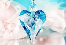 Crystal Suncatchers / Swarovski Crystal Suncatchers www.crystalbluedesigns.etsy.com