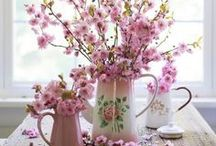 Printemps / le printemps, une saison qui nous fait reprendre vie. La  jolie saison côté campagne, jolie, simple, éternelle et fleurie avec une pointe de s'habituer chic made in Sud ! #printemps