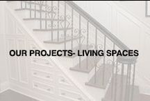 Our Projects: Living Spaces / Take a look at our renovation projects. Walden Homes renovates and redesigns your home's living spaces with careful project management.