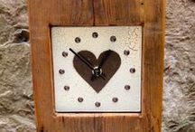 For her... / A collection of clocks and wall hangings