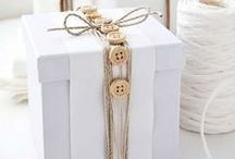 DIY - that's a wrap! / Gift wrap and gift tag inspiration for DIY.