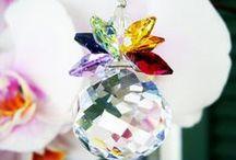 Feng Shui Crystal Suncatchers Home Decor / Feng Shui Crystal Suncatchers for the home created with Swarovski Crystals.