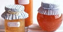 mason jar love / Canning jars: Ball, Weck, Kerr, Le Parfait - and creative use to use them as serving dishes and for gifting.