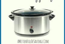 Crock Pot/slow cooker recepten