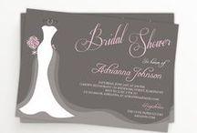 Weeding Invitations / Bridal Shower Invitations / Weeding Invitations / Bridal Shower Invitations