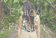 >>Ethical Fashion / Ethical fashion doesn't mean you have to wear a hemp sack - it can be fashionable! Here is a collection of jewellery, clothes, footwear and other items that are organic, ethical and fair trade.