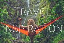 >>Travel Inspiration /  Whether it is traditional sights or off the beaten-track destinations, this board has all the travel inspiration you need to to get those feet itching with some intense wanderlust and to add even more places to your bucket list!