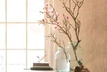 branches & stems / centerpieces and displays using real or artificial stems and branches