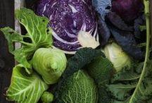Au potager / Des Fruits et de légumes tout juste ramassés, c'est déjà de la poésie dans l'assiette !