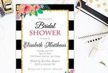 Bridal Shower Invitations / Bridal Shower Invitations, Baby shower invitations, Wedding Invitations, RUSTIC BRIDAL SHOWER INVITATIONS