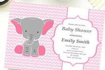 Baby Shower Invitations / Baby Shower Invitations, Bridal Shower invitations, Wedding Shower Invitations.