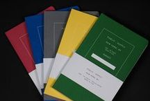 Notebooks / Our favorite American-Made notebooks from companies such as Field Notes and Public Supply