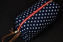 General Knot & Co. / Limited edition neckties, pocket squares, and dopp kits made from rare vintage fabrics. New York, USA.