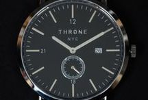 Throne Watches / Hand made leather watch straps, vintage watches, and American made watches from Throne. Brooklyn, New York.