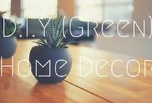>>DIY (Green) Home Decor / DIY inspiration to upcycle, recycle and reuse items to turn your home into a fashionable paradise. Everything from DIY home decor to design.