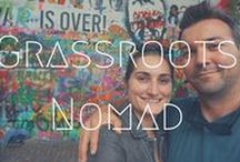 >>Grassroots Nomad / All the best articles and YouTube videos from Grassroots Nomad. Check here for responsible volunteering, eco-tourism, green living and sailing adventures.