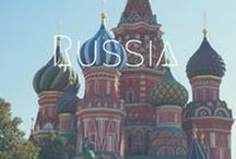 >>Russia / Russia is home to some of the most delicious food, the Trans-Siberian railway, the churches of Moscow and the Red Square. St Petersburg stole my heart....will it steal yours?