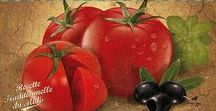 La tomate / Pas de repas sans tomate dans la cuisine du Sud ! Véritable aliment pilier de la cuisine méditerranéenne, en voici quelques recettes :-)