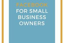 Facebook Tips for Small Business Owners / Facebook tips for small business owners and entrepreneurs #socialmedia #Facebook