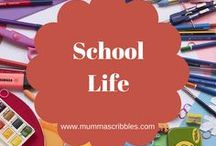 School Life / A selection of the best posts, tips and hacks to surviving being a school mum.