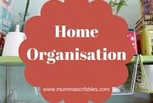 Home Organisation / A roundup of the best home organisation tips, hints and hacks.