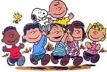 THE Peanuts Gang~and Snoopy / by Irma Vega