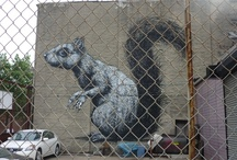 street art / pictures of graffiti and street art that i sow all around the world