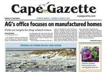 Front Page News / by Cape Gazette