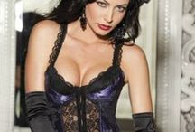 Satin & Lace Lingerie / Classic and often vintage and pinup inspired, SexyLingerie.co specializes in sexy satin and lace lingerie for women of all sizes.