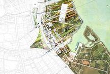 LA - Graphics - Site plans / masterplans / landscape architecture urbanism architecture site plas masterplan