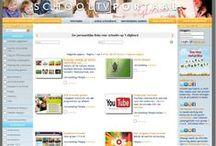 Schooltv PO / Al het educatieve beeldmateriaal samengebracht. / door portalengroep.nl | schoolbordportaal.nl