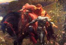Pre-Raphaelite Art / My favorite art movement.