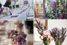 Wedding ideas / #wedding decorations #flower decorations #vintage style