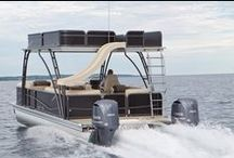 Pontoon boats / We love these pontoons — all under $5,000 from boats.com. / by boats.com
