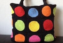 Crochet bags  / by NK