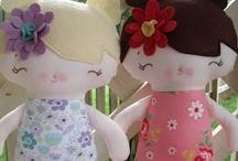 Hello (DIY) Dolly! / Handmade dolls. / by Sarah-Jane Ireland