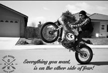 Motivational Bike Posters / Motivational posters to get you guys wanting to ride, while searching through our pins at work!!! ;-)