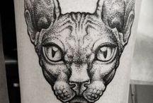 ✂ Ink / Tattoo / by Sebastian Nieto