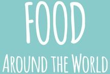 FOOD around the world / Savouring the flavours of the world. Travel for food. Taste all the amazing street food and the delicious cuisines of the whole world. Eating is one of the best travel experiences if you truly want to understand the local culture and way of life.