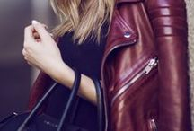 Leather   Jacket / streetstyles/Outfits