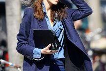 Denim    shirt/jacket / jean jacket/streetstyle/outfits/fashion