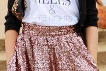 Sequin outfits