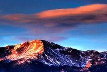 "Pike's Peak, CO - Colorado Info / Pike's Peak is ""America's Mountain,"" in Colorado Springs, Colorado."
