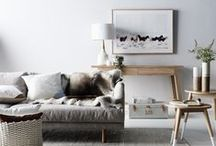 Winter Wonderland by Nathan + Jac / Soothing Scandi. Textural, soft tones create a calming and cosy environment, inspired by long, white Scandinavian winters.
